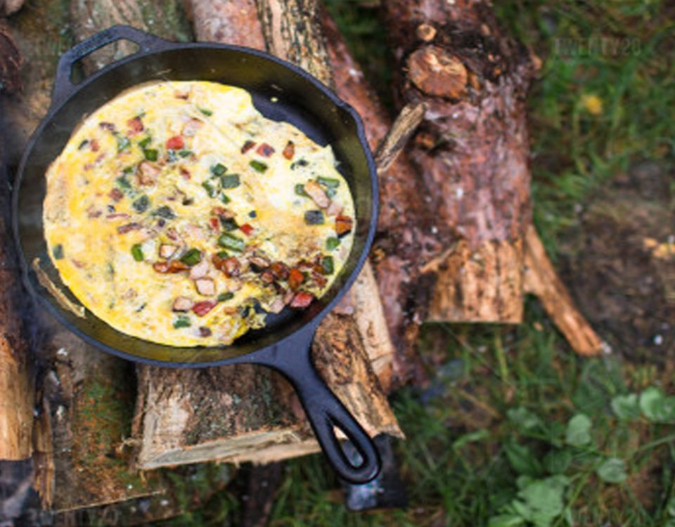 آشپزی در سفر. cooking in camping