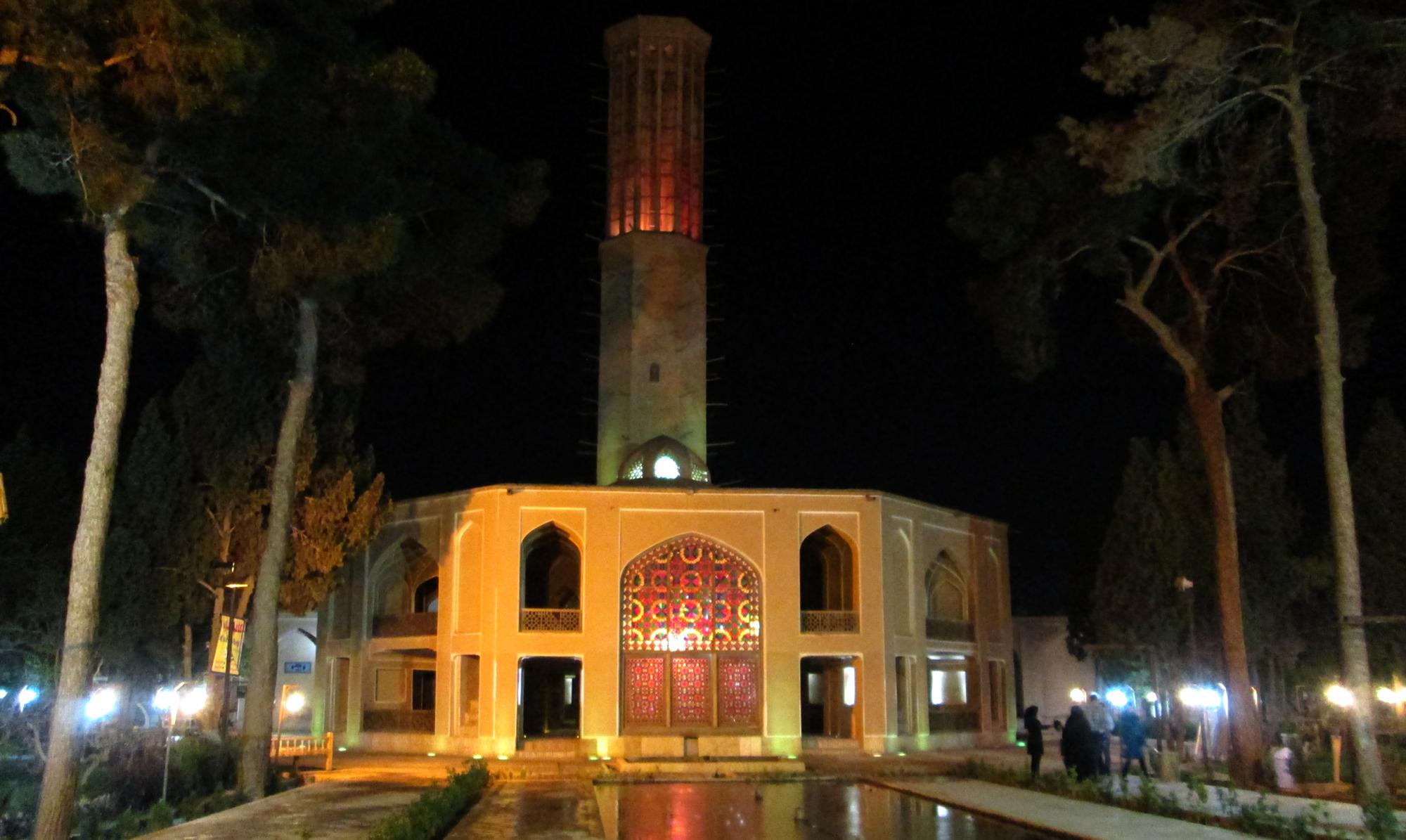 بادگیر باغ دولت آباد یزد